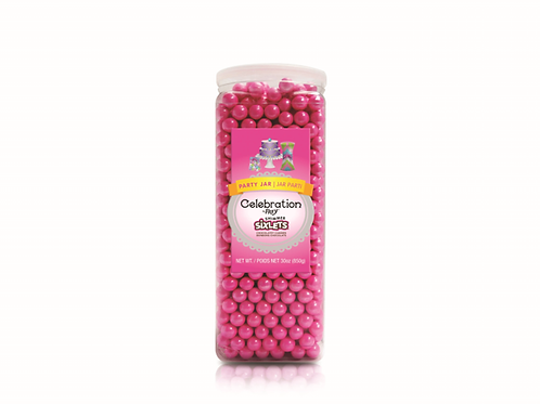CEL by Frey Sixlets  Party Jar Shimmer Bright Pink