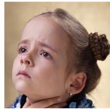Swollen tonsils or adenoids