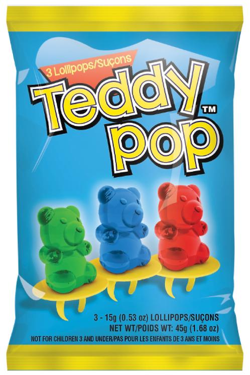 Teddy Pop Peg Bag