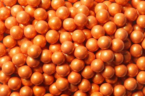 Shimmer Sixlets Bulk - Orange