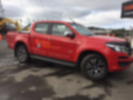 TBS Ute. Keep n eye out for it around Dunedin.