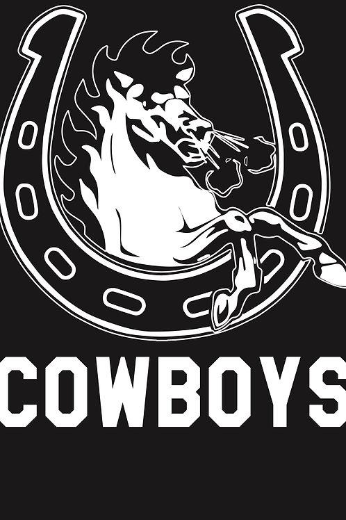 Northern Light Cowboys White Logo