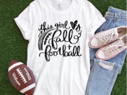 This Girl Loves Fall & Football