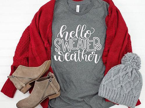 Hello Sweater Weather
