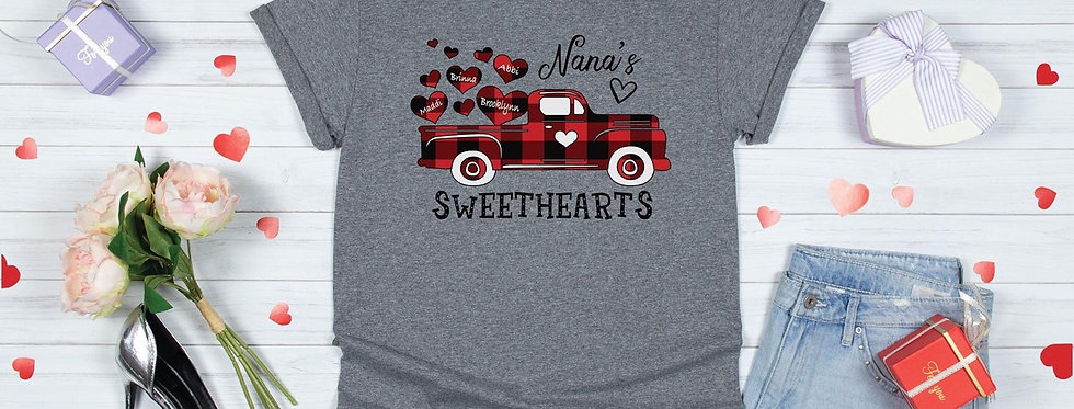 Nana's Sweethearts - Customized