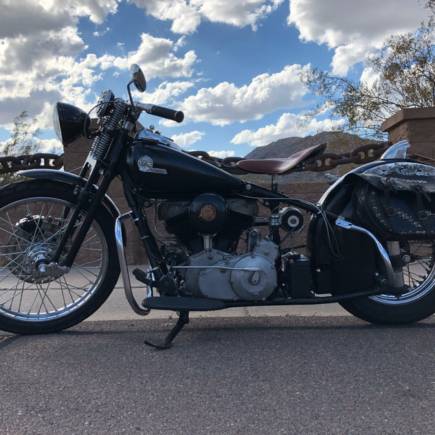 1946 Indian Chief Bobber