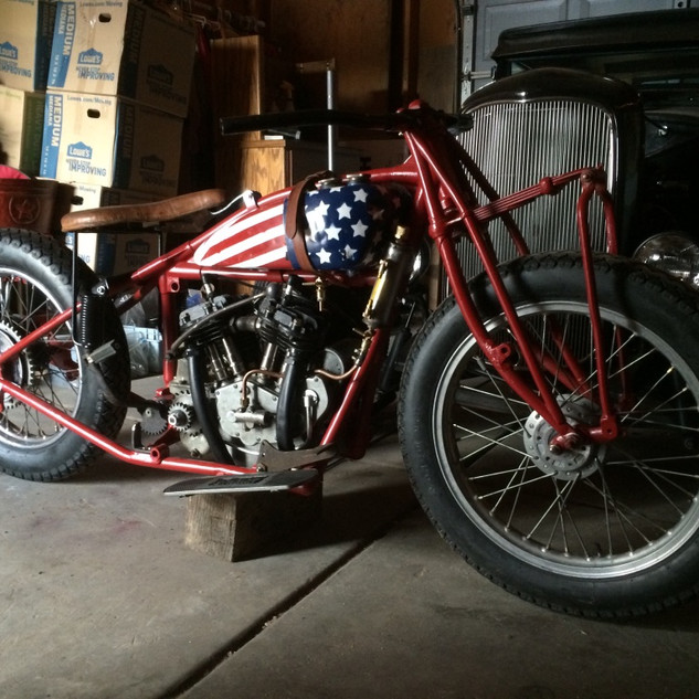 1929 Indian 101 Scout - Wall of Death