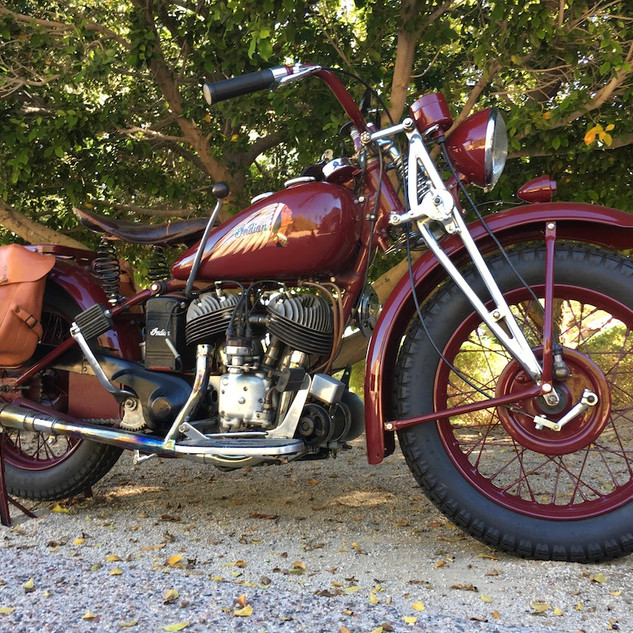 1943 Indian 741 Scout (WWII)