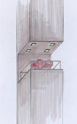 Schaufensterentwurf, Bucherer Detail