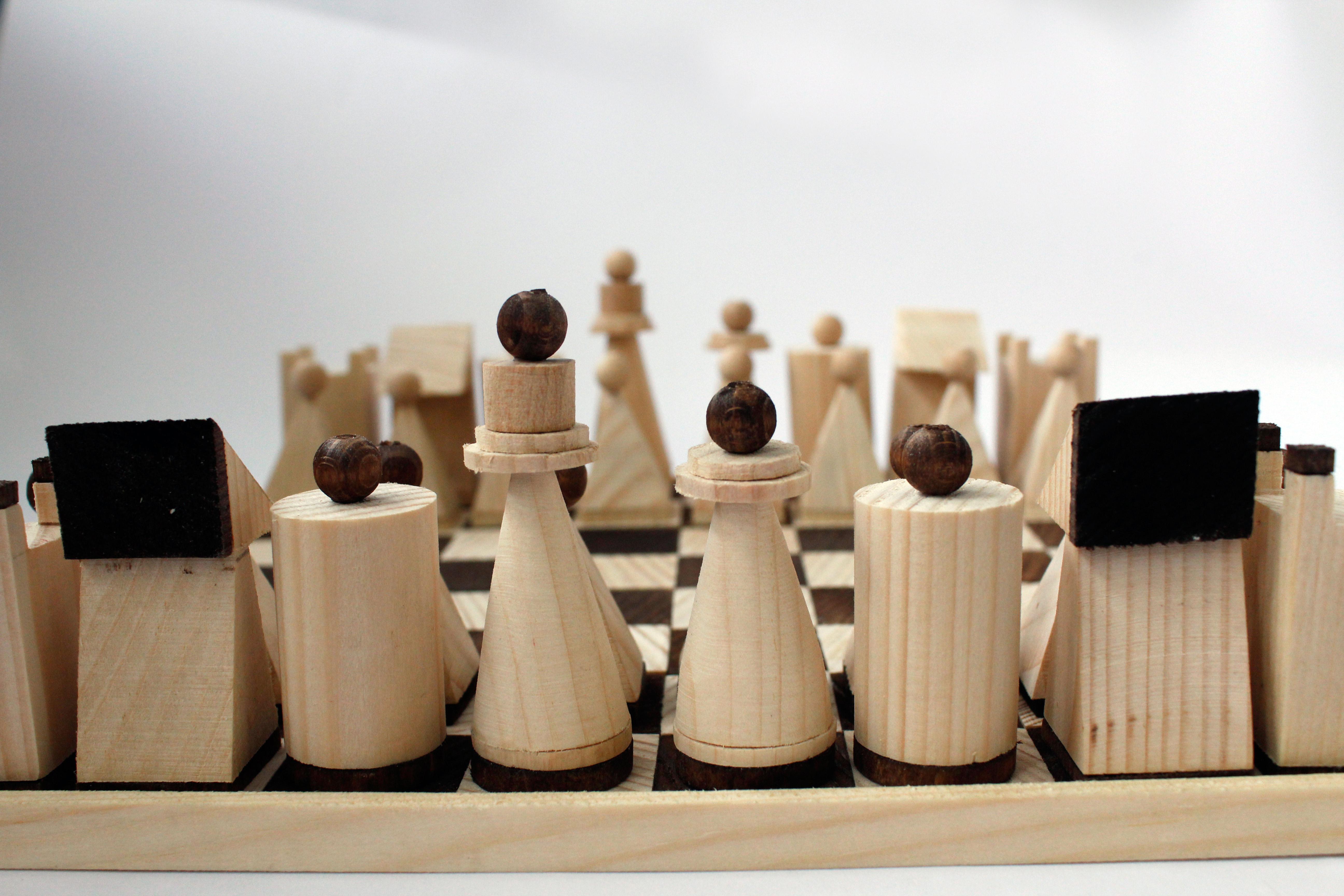 Objektdesign Schach