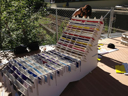 Objektdesign Kartonstuhl