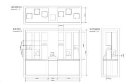 Bucherer Schaufensterplan, Licht