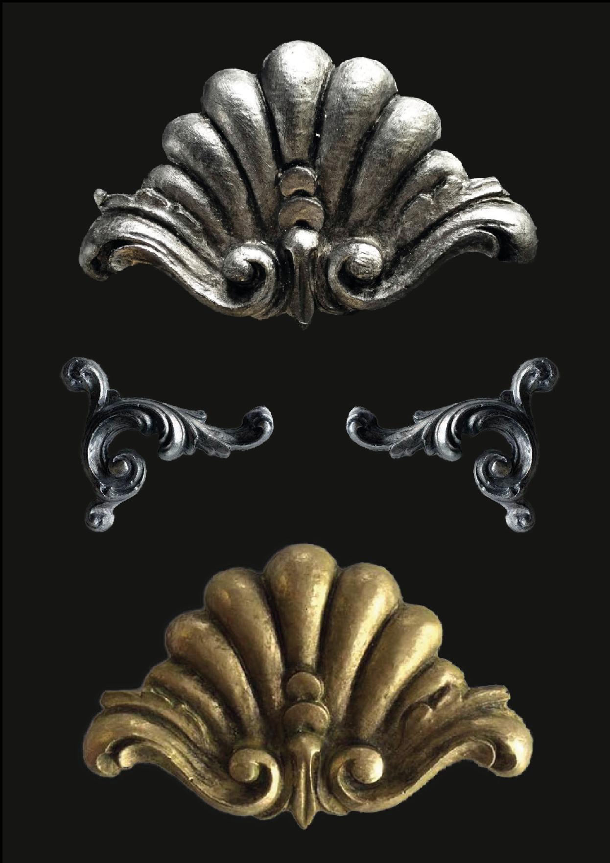 Auf silber, Stahl und Gold gemacht