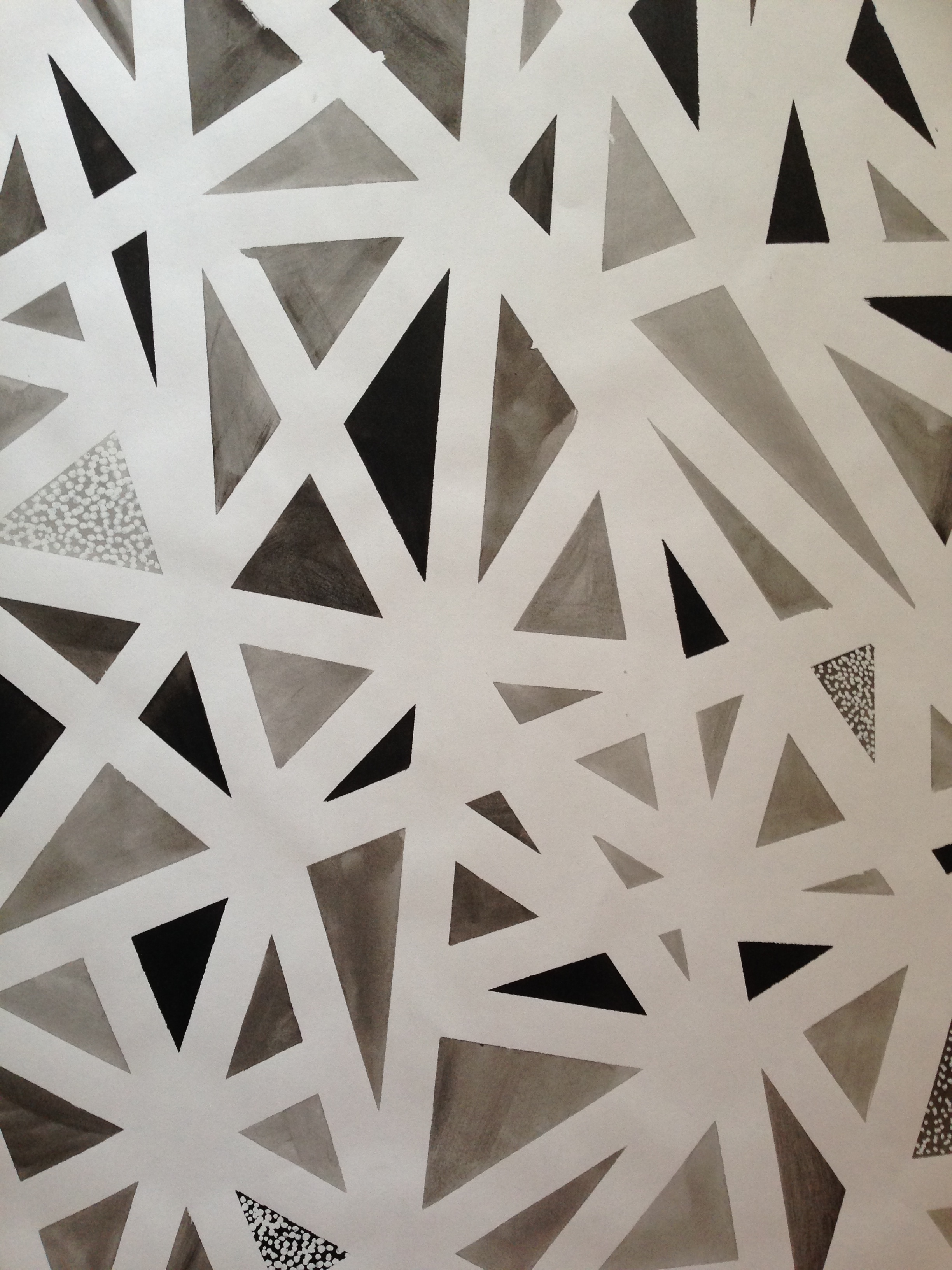 Studie, Verhalten von Tinte