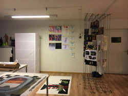 Vorbereitungen Abschlussausstellung 4