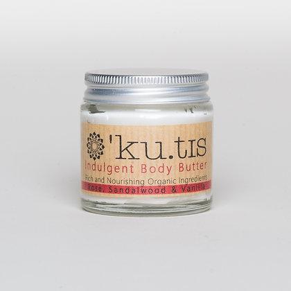 Ku.tis rose, sandalwood & vanilla body butter