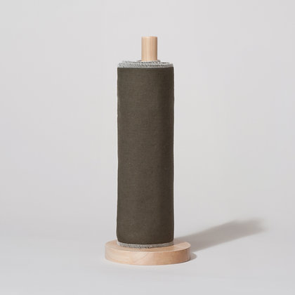Reusable kitchen roll. 6 sheets in forest green