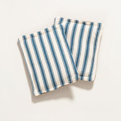 Plastic Free Sponge. 2 Pack- Stripe
