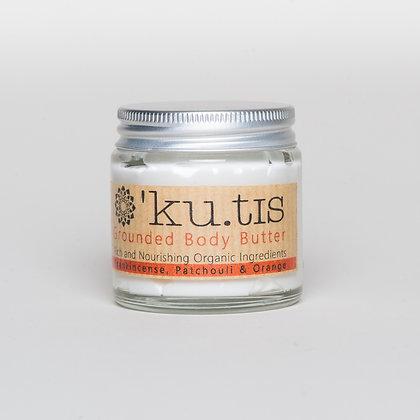 Ku.tis frankincense, patchouli & orange body butter