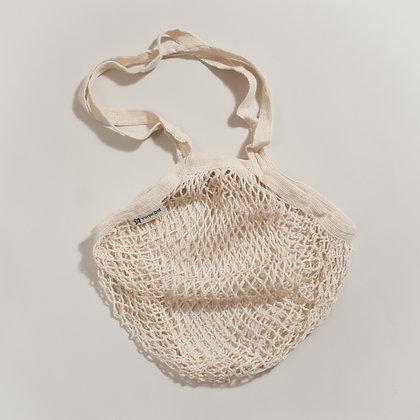 Organic Cotton String Shopping Bag- Natural