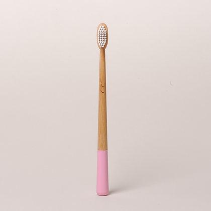 Truthbrush Bamboo Toothbrush- Petal Pink