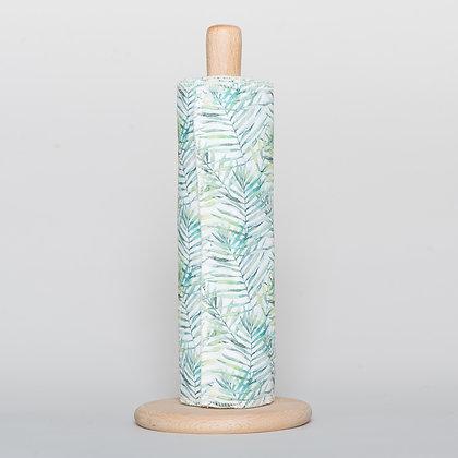 Leaf print washable kitchen roll