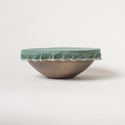 moss green wipe clean bowl cover