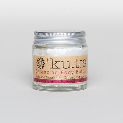 Ku.tis lavender & geranium body butter