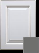 Madrid White -Stone Grey Glaze