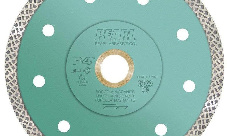 "Pearl Abrasive P4 Turbo Mesh Blade 4.5"""