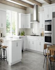 Summit Shaker White Kitchen Cabinets 2.j