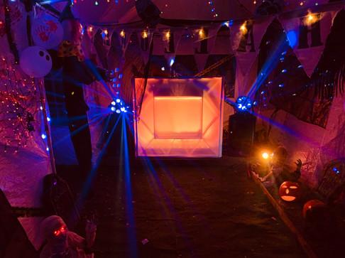 Halloween Garden Party in Calne