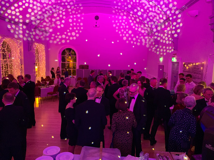 Birthday party at Corsham Hall