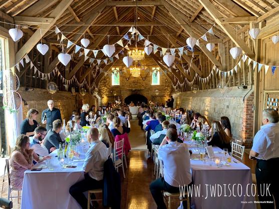 Wedding at Wick Bottom Barn