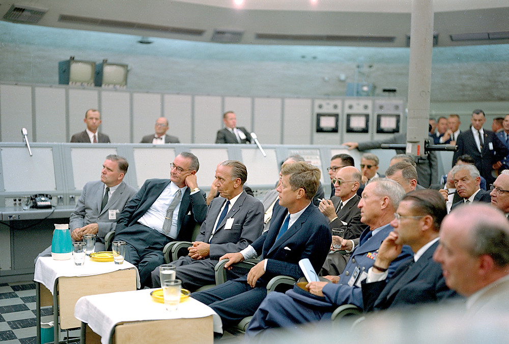 Kennedy Visits Nase