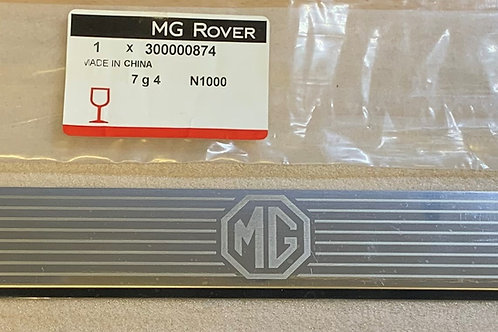 MGF TF Pair of Sill Plate mounts and a Pair of Silver Treadplates (Brand New)