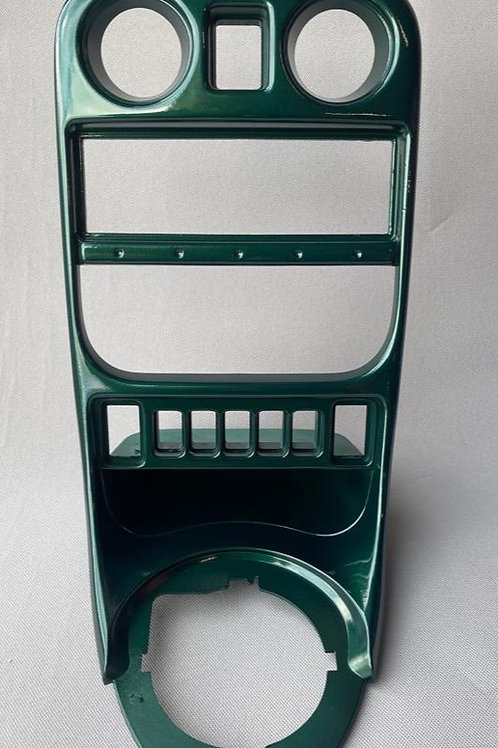 MGF/MGTF British Racing Green Centre Console Fascia Panel