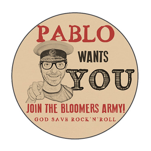 Badge - Pablo wants you!