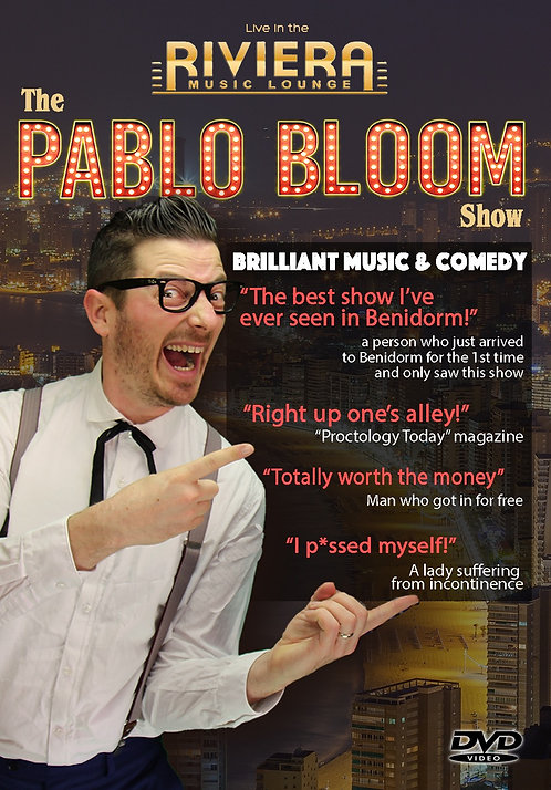"DVD: ""Pablo Bloom live in the Riviera Lounge"""