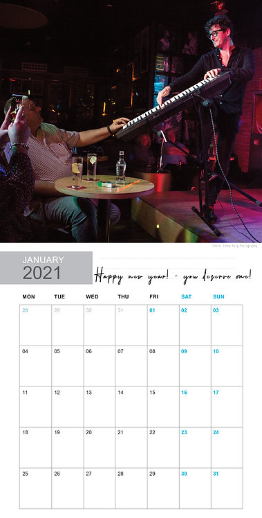 Pablo Bloom 2021 Calendar