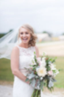 photo of a bride in columbus ohio, columbus wedding photography