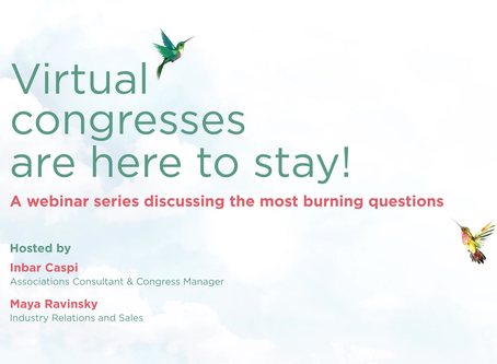 Virtual congresses are here to stay - a series of webinars