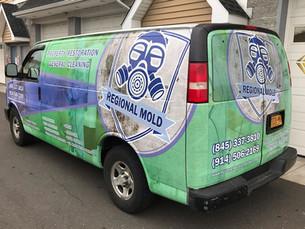 van wrap / vehicle wrap / commercial vehicle wrap