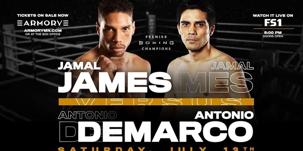 Fight Night! James vs Demarco