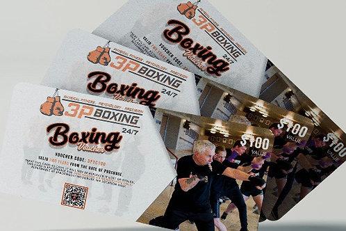 Boxing Voucher