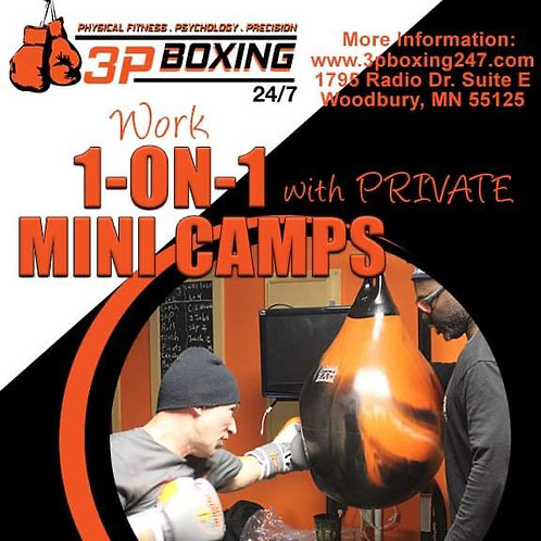 60min 1on1 Boxing Mini Camp
