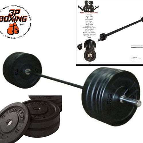 Olympic Barbell Set 235lb