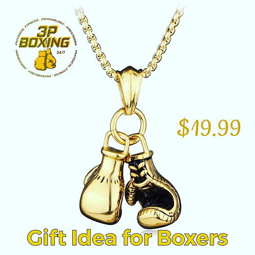 Golden Boxing Gloves