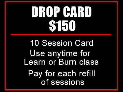 DROP CARD