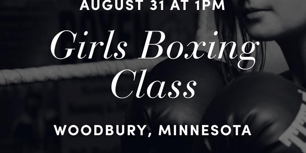 Girls Boxing Class